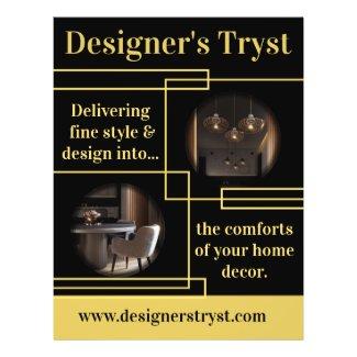 Designer's Tryst Flyer