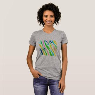 Designers tshirt with amazonic Stripes