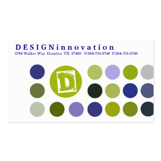 DESIGNInnovation [Blue] Business Cards
