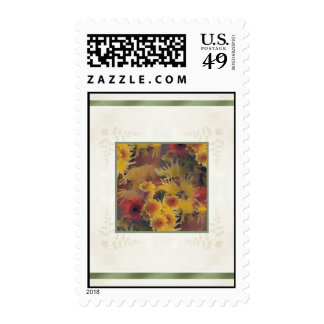 Designs by Judith Heath ~ Chrysanthemums Stamp