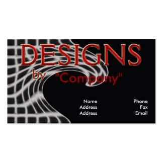 Designs by You Business Card Template