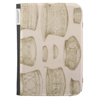 Designs for Arab and Persian Bowls and Basins, fro Kindle Cases