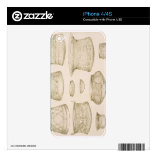 Designs for Arab and Persian Bowls and Basins, fro iPhone 4S Decals