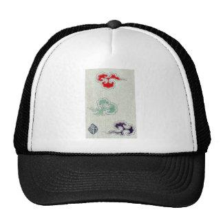 Designs now on textile fabrics Ukiyo-e. Mesh Hats