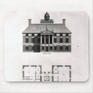 Designs of Inigo Jones, 1727 Mouse Pad
