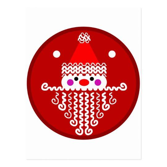 Designy Santa Postcard