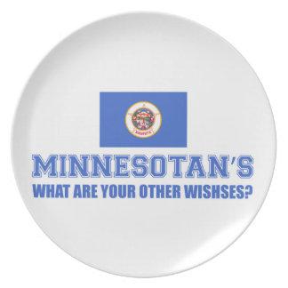 Desin de Minnesota Platos