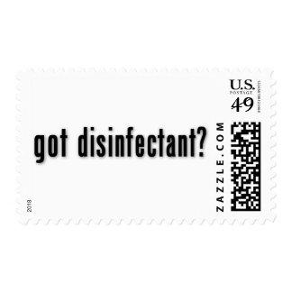 ¿desinfectante conseguido? envio