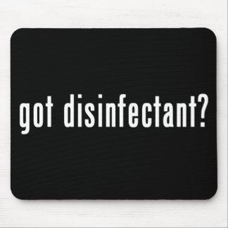 ¿desinfectante conseguido? tapete de raton