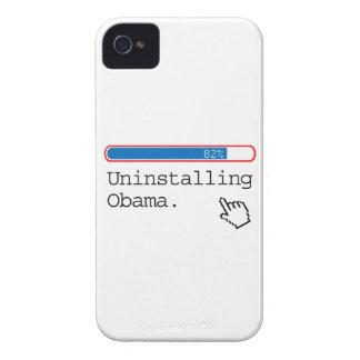 DESINSTALAR A OBAMA Case-Mate iPhone 4 CARCASA
