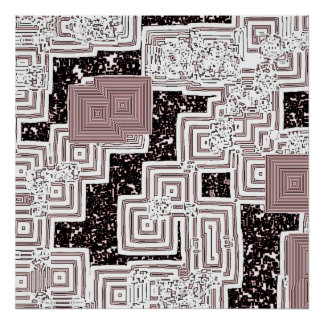 Desintegrating Labyrinth Poster
