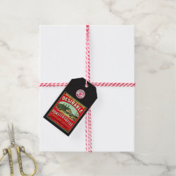 Desirable French Market Roasted Coffee Gift Tags