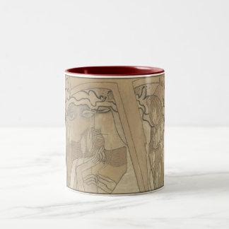 Desire and Satisfaction (1893) by Jan Toorop Coffee Mugs
