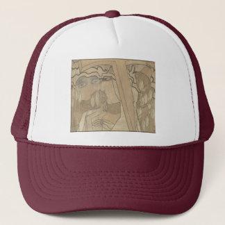 Desire and Satisfaction (1893) by Jan Toorop Trucker Hat