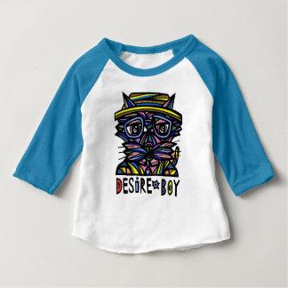 Desire Boy Baby American Apparel 3/4 Sleeve Raglan Baby T-Shirt