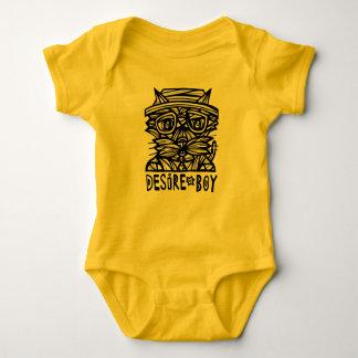 """""""Desire Boy"""" Baby Jersey Bodysuit"""