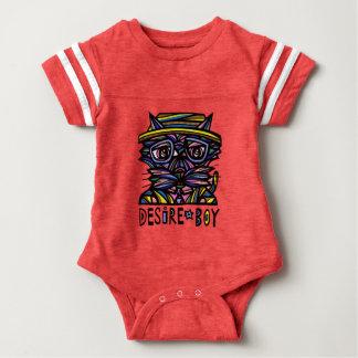 """""""Desire Boy"""" Baby Sport Bodysuit"""