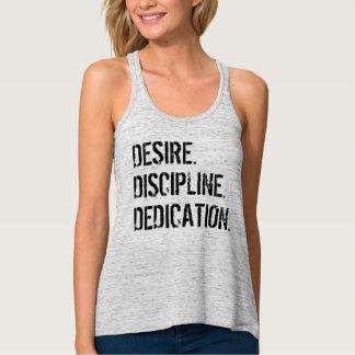 DESIRE. DISCIPLINE. DEDICATION. Motivational Tee