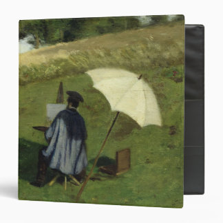 Desire Dubois Painting in the Open Air, c.1852 3 Ring Binder
