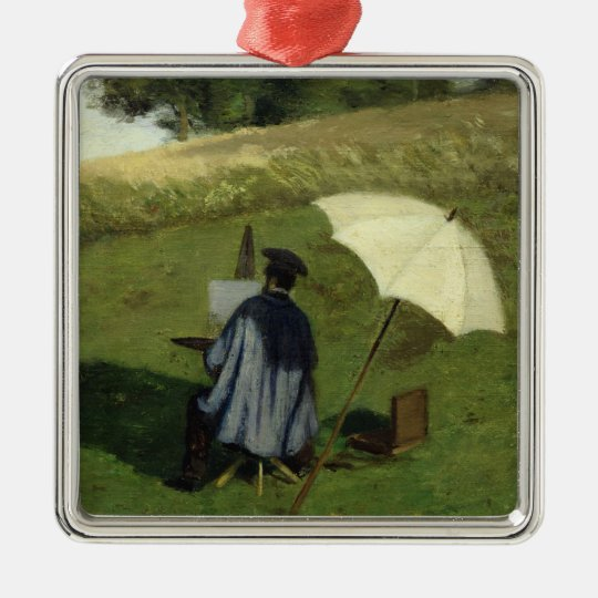 Desire Dubois Painting in the Open Air, c.1852 Metal Ornament