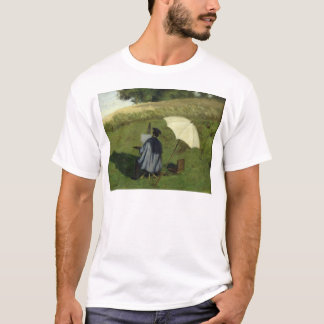 Desire Dubois Painting in the Open Air, c.1852 T-Shirt