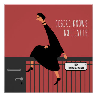 Desire knows no limits poster