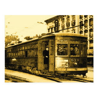 Desire Streetcar on Canal St Postcard