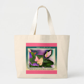 Desires of your heart canvas bag