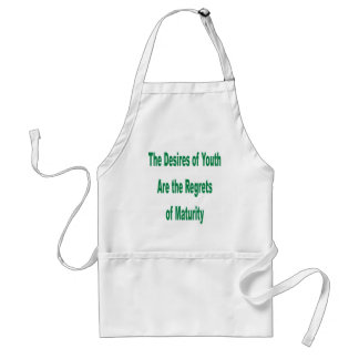 Desires of Youth transparency Adult Apron