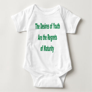 Desires of Youth transparency Baby Bodysuit