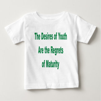 Desires of Youth transparency Baby T-Shirt