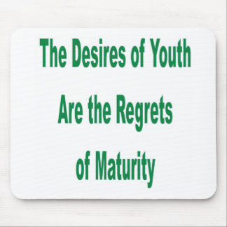 Desires of Youth transparency Mouse Pad