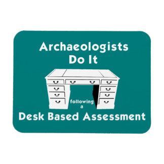 Desk Based Assessment Fridge Magnet