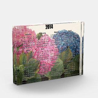 Desk calendar acrylic award