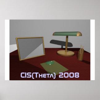 desk, CIS(Theta) 2008 Poster