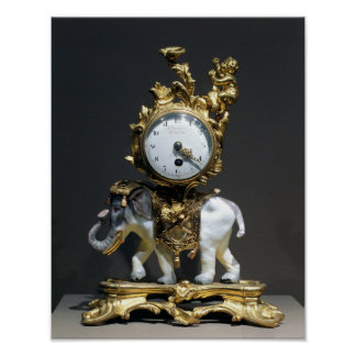 Desk clock poster