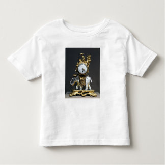 Desk clock toddler t-shirt