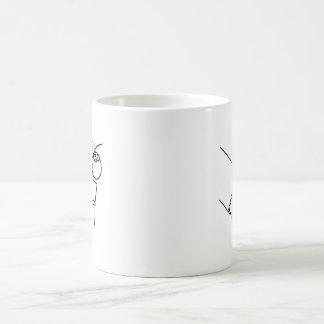 Desk Flip Rage Meme Coffee Mug