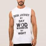 Desk Jockey by Day, WOD Warrior by Night CrossFit Shirts