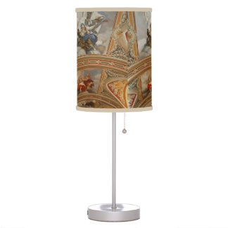 Desk Lamp w/Designed Shade - Masterpiece Ceiling