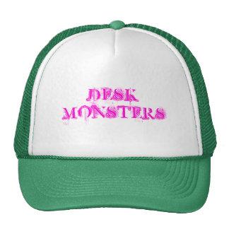 DESK MONSTERS MESH HATS