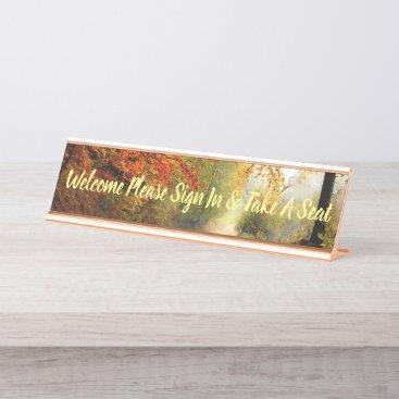 Desk Office Autumn Name Design Destiny'S Destiny Desk Name Plate