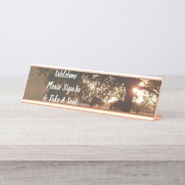Desk Office Sun Tree Name Design Destiny'S Destiny Desk Name Plate