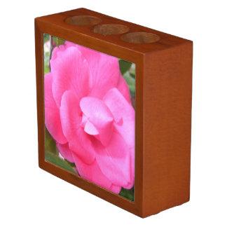 Desk Organizer - Dark Pink Camellias 1 & 2