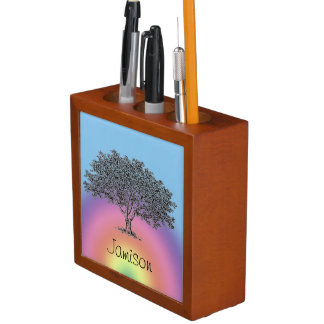 Desk Organizer - Family Tree with Name