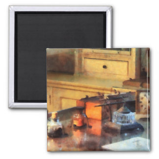 Desk Set 2 Inch Square Magnet