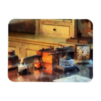 Desk Set Rectangular Photo Magnet