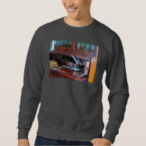 Desk With Quill and Books Sweatshirt
