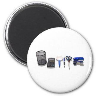 DeskSet050609Shadows 2 Inch Round Magnet