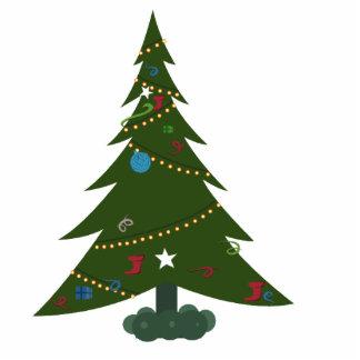 Desktop Christmas Tree Photo Sculpture